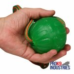 """Roll and Throw"" Chew Dog Ball Made of Special Rubber"