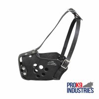 Military Basket Style Dog Muzzle for Training, Police Work, Agitation