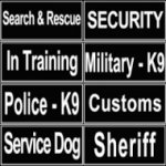 Dog Identification Patches