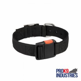 Any-Weather Nylon Dog Collar With Quick Release Buckle for Training and Walking