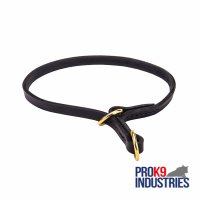 Dog Leather Choke Collar Effective Training