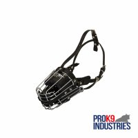 Padded Basket Wire Dog Muzzle