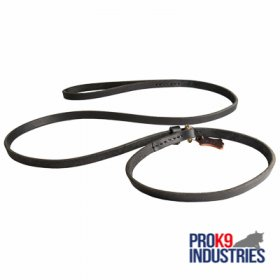 Leather Dog Choke Collar and Leash Combo for Profssional Training and Walking