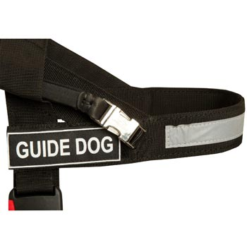 Dog Nylon Assistance Harness with Patches