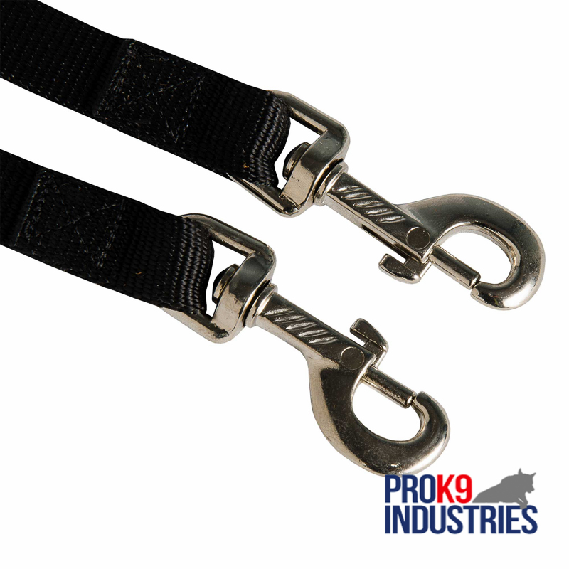 Nylon Dog Leash Coupler Stitched