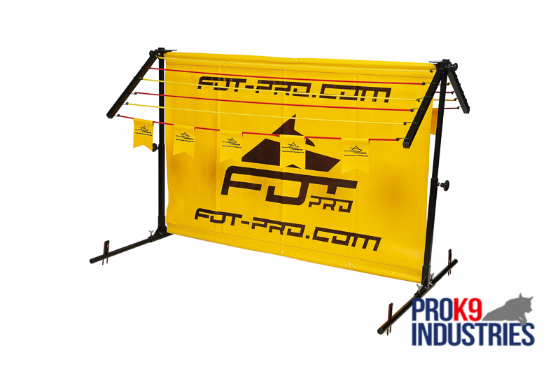 "Schutzhund Training Jump/Barrier with Removable ""long jump"" Frame"