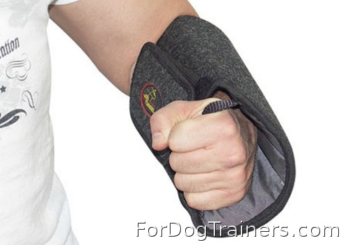 Protection arm cover was made for effective trainings