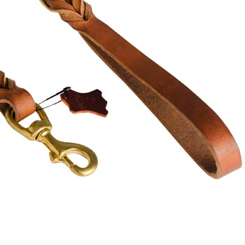 Dog Leather Leash for Canine Service