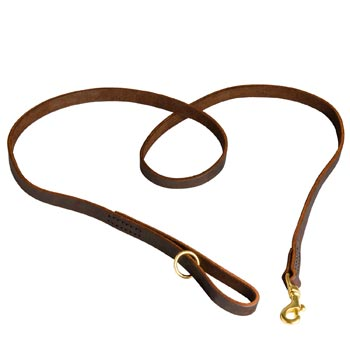 Durable Leather Dog Leash